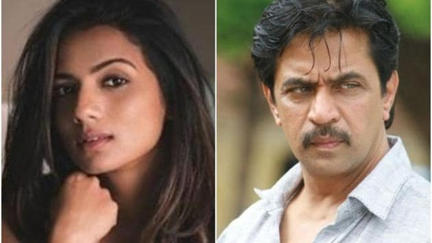 Sruthi Hariharan and Arjun Sarja worked together in 2016's Vismaya.