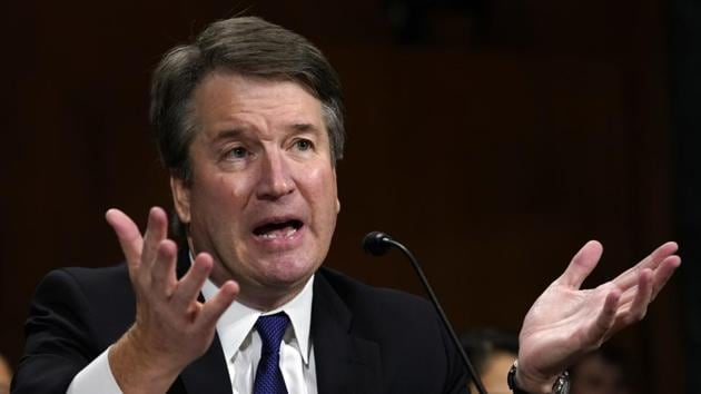 The US Senate confirmed Brett Kavanaugh's lifetime appointment to the nation's highest court despite accusations that he had sexually assaulted multiple women.(AP/File Photo)