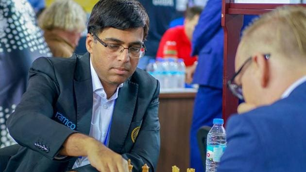 Viswanathan Anand Takes On Wesley So In Tata Steel Chess India Hindustan Times
