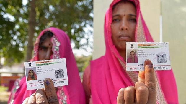 About 10,000 farmers in Barmer district alone have been deprived of the loan waiver due to a verification of the Aadhaar details.(PTI/File Photo)