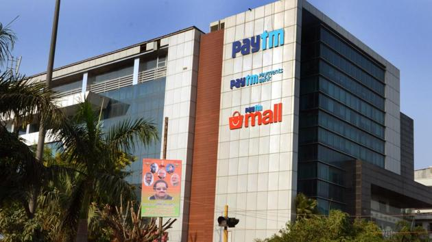 Paytm employee allegedly stole data from CEO's laptop(Virendra Singh Gosain/ Hindustan Times))