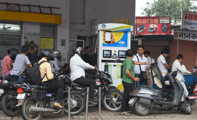 Fuel prices had been witnessing a relentless hike since the past few months in the country, burning a hole in the common commuter's pocket.(File Photo)