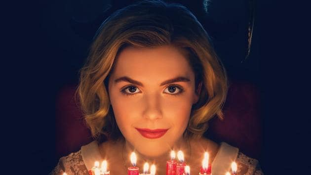 Chilling Adventures of Sabrina review: Kiernan Shipka plays Sabrina the Teenage Witch in Netflix's Riverdale spin-off.