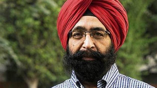Gajinder Singh Bains(HT Photo)