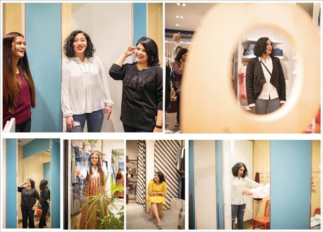 Despite hot claims of fashion being inclusive of everyone's size and shape, is it really? Three ladies go plus-size shopping and count the challenges(Bellona)