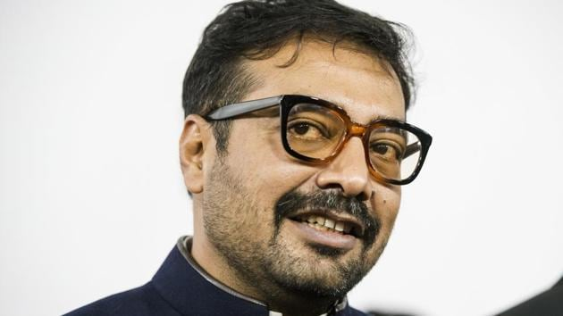 Director Anurag Kashyap arrives ahead of the screening of Manmarziyaan during the Toronto International Film Festival in Toronto.(AP)
