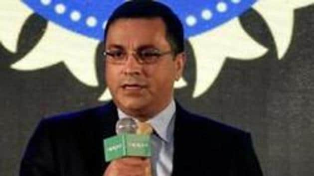 Rahul Johri addresses the media during an event in Mumbai.(PTI)