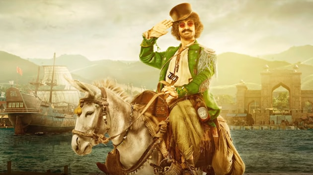 Aamir Khan's Thugs of Hindostan character has been compared to Johnny Depp's Jack Sparrow from the Pirates of the Caribbean movies.