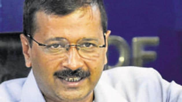 Chief minister Arvind Kejriwal on Monday gave a nod to provide government jobs to those who excel in sports(HT File)