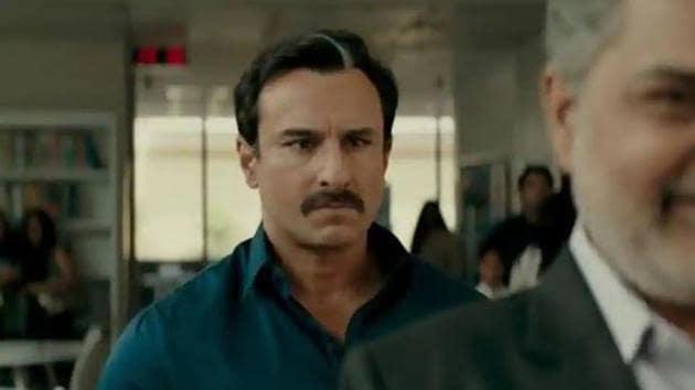 Saif Ali Khan as Shakun Kothari in Baazaar.(Instagram)