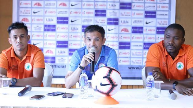 Neroca FC face Gokulam Kerala FC in the I-League.(AIFF)