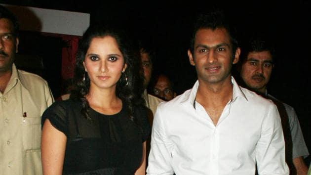 File image of Sania Mirza and Shoaib Malik.(Getty Images)
