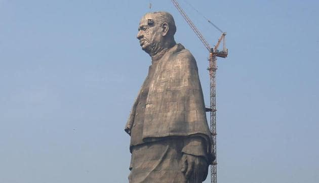The memorial to the 'Iron Man of India' Sardar Vallabhai Patel is set to be inaugurated by Prime Minister Narendra Modi on Wednesday, five years after work began on the world's largest statue.(Reuters)