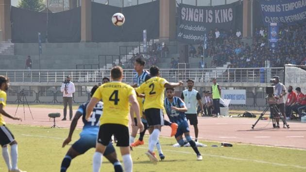 Gnohere Krizo scored the only goal of the game.(AIFF)