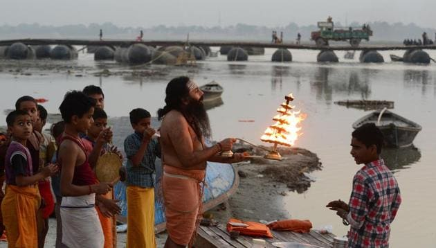 The corps will be raised by the ministry of home affairs as demanded by the National Ganga Council.(AFP/Picture for representation)
