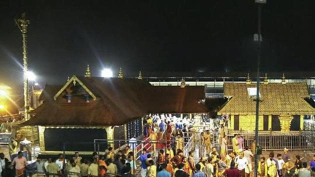 Tamil Nadu, Karnataka, Andhra Pradesh, Telangana and Puducherry on Wednesday sent officials instead of ministers for a meeting called by Kerala chief minister Pinarayi Vijayan to discuss arrangements for the annual Sabarimala pilgrimage season starting next month.(PTI)