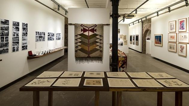 Exhibits on display at IMPACT: Design thinking and the visual arts in young India.(Courtesy: Chatterjee and Lal)