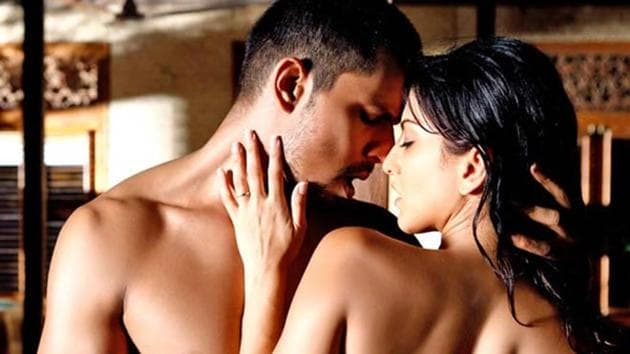 A still from the Bollywood film Jism 2. For scenes such as these, Hollywood has just begun hiring an intimacy director.