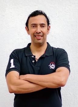 Samit Mehta of Six Pack nutrition, a protein drink manufacturer(HT/PHOTO)