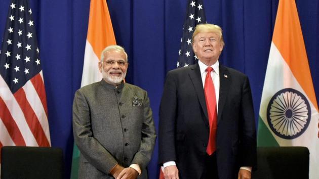 Prime Minister Narendra Modi and US President Donald Trump(PTI)