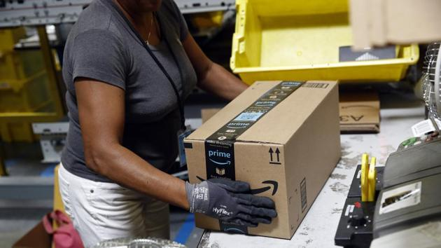 Reports say a 50-foot wall collapsed late on Friday at the Amazon Fulfillment Center as a storm hit the area.(AP/Picture for representation)