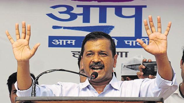 A Delhi court on Monday acquitted Chief Minister Arvind Kejriwal in a criminal defamation case filed by a former aide of Congress leader Sheila Dikshit.(HT File Photo)