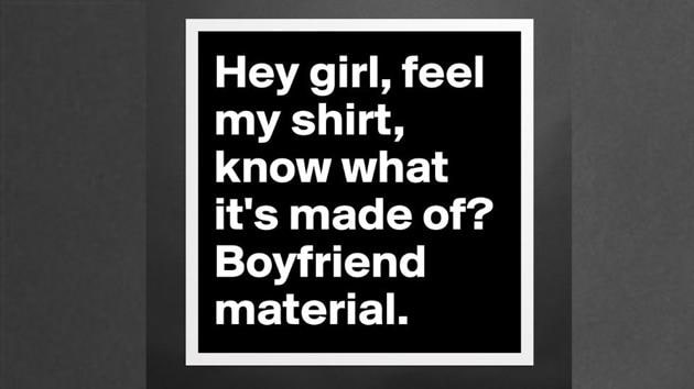 Try one of these pick-up lines as an icebreaker. At least you'll get laughs, if not love.