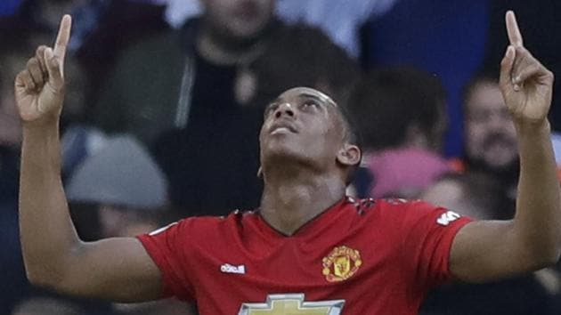 Anthony Martial has been in superb form for Manchester United.(AP)
