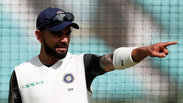 """Aakash Chopra has called Virat Kohli's """"leave India""""comment disappointing.(REUTERS)"""