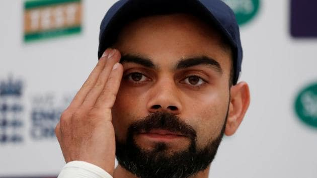 Virat Kohli has been in the news for criticising a fan on his official app.(Reuters)