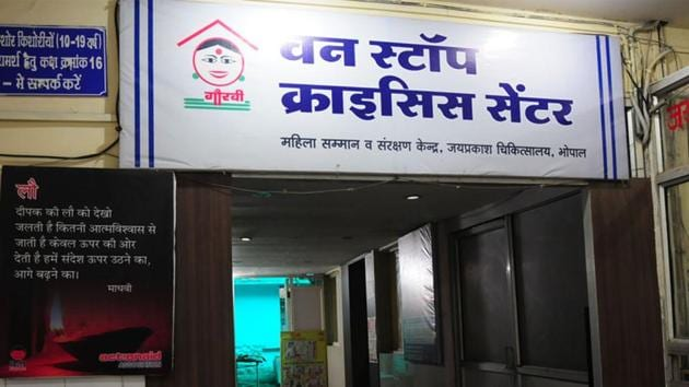 India's first One Stop Centre was set up in Bhopal last year. Two more centres will come up in Gwalior and Indore. ()(Mujeeb Faruqui/HT File Photo)