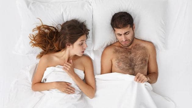 Men and women both cannot relax during intercourse if they are worried that it might end up in a pregnancy.(Shutterstock)