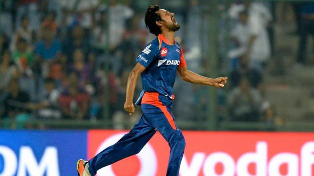 Shahbaaz Nadeem has 89 wickets in 109 T20 matches.(AFP)