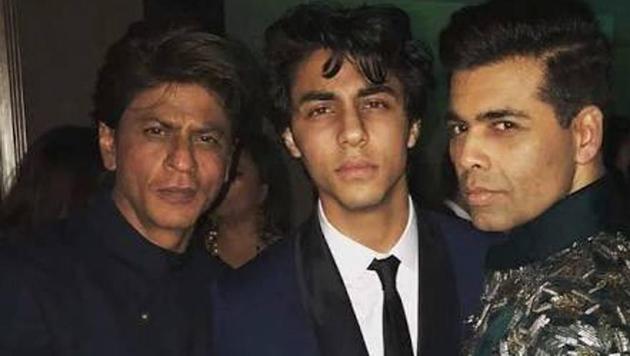 Karan Johar shared this picture to wish his godson Aryan Khan on his birthday.