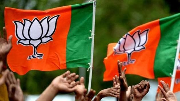 The Bhartaiya Janata Party (BJP) Sunday night released its first list of 131 candidates for the Rajasthan assembly elections 2018 (File photo)(AFP)