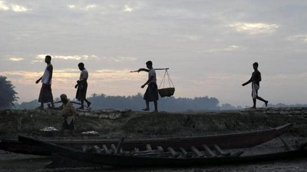Dozens of Rohingya Muslim families on a list of refugees set to be repatriated to Myanmar later this week have fled from camps in Bangladesh where they were living.(REUTERS)