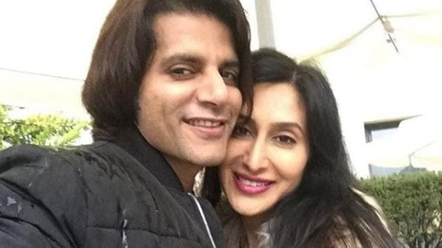 Teejay Sidhu is upset over her husband Karanvir Bohra getting bullied on the show.(Instagram)