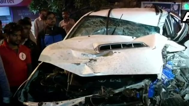 At least two of the injured people were in critical condition; some suffered multiple fractures, said a doctor at a private hospital where the victims were admitted.(ANI Photo)