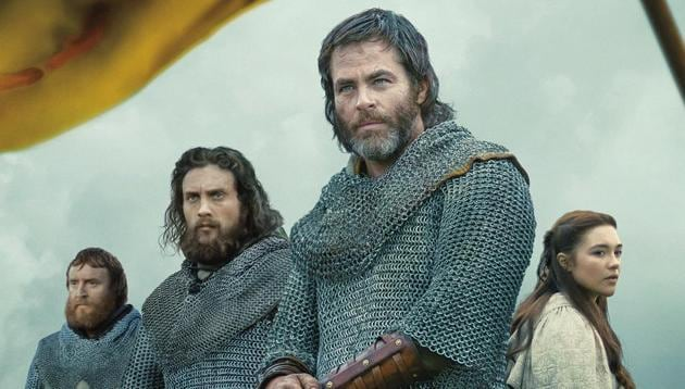 Outlaw King movie review: Chris Pine stars as Robert the Bruce in Netflix's epic historical drama.