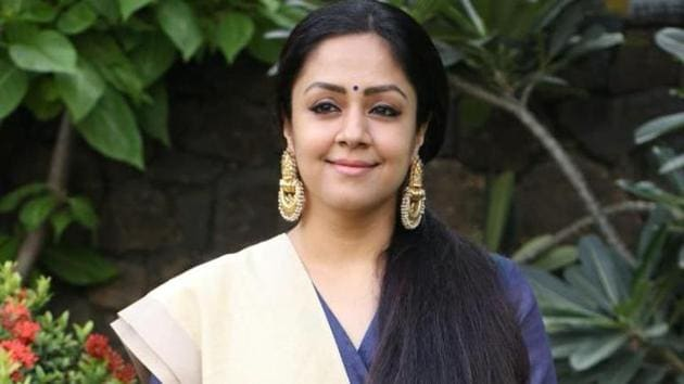 Actor Jyothika is waiting for the release of film Kaatrin Mozhi.