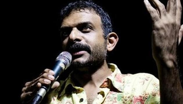 Carnatic singer TM Krishna has accepted the Delhi govt's invite.(Twitter/@tmkrishna)