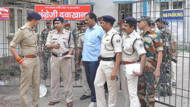 Patna senior superintendent of police (SSP) Manu Maharaaj constituted a special investigating team under the supervision of city SP (west) to arrest the accused.(File Photo)