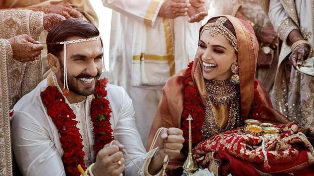 Deepika Padukone and Ranveer Singh wedding: The couple are expected to return to Mumbai on November 18.(Instagram)