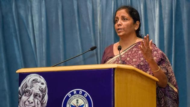 Defence Minister Nirmala Sitharaman will embark on a three-day bilateral visit to US in December first week with the acquisition of weaponized Predator drones and anti-missile shield for Delhi on top of the agenda with Pentagon.(PTI)