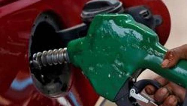 Petrol price Sunday was cut by 20 paise a litre and diesel by 18 paise.(REUTERS)