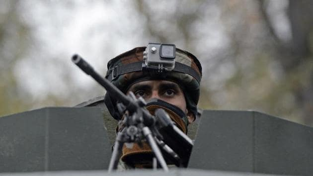 Based on inputs, a cordon and search operation was launched by police and security forces at dawn in Rebban area of Zainapora in Shopian district.(AFP)