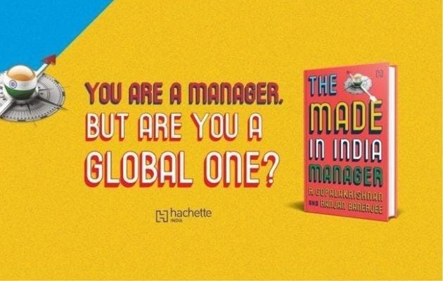 New book titled The Made In India Manager reveals what makes Indian managers a hit...