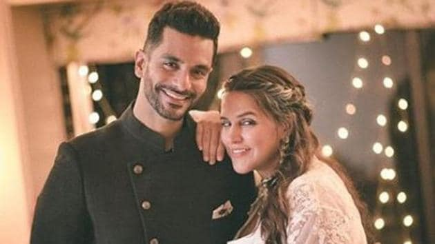 Neha Dhupia and Angad Bedi became parents to a baby girl on Sunday.(Instagram)
