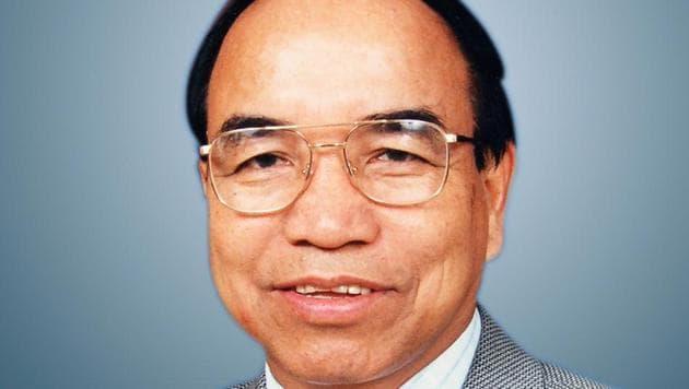 Former Mizoram chief minister and MNF president Zoramthanga.(HT Photo)