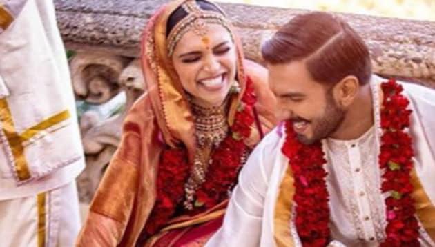 Deepika Padukone and Ranveer Singh have been wearing Sabyasachi outfits for their wedding functions.